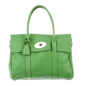 Green Mulberry Bayswater in Glossy Goat